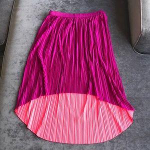 Reversible Accordion Skirt